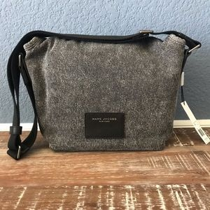 NWT Marc Jacobs Denim Messenger Bag